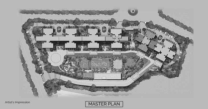 The Icon Thane West Master Plan Layout